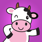 Cute Dairy Cow Stickers