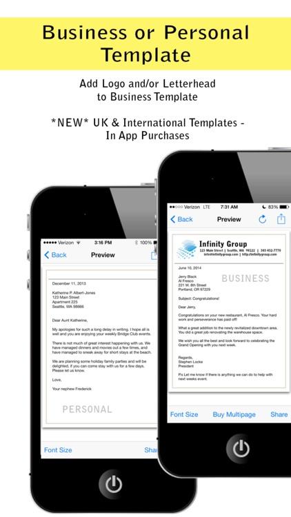 Pocket Letter Pro screenshot-3