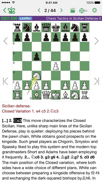 Chess Tactics. Sicilian Def. 2