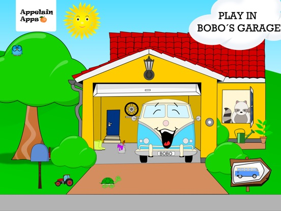 Bobo Garage Car Games Baby 1-3 Screenshots
