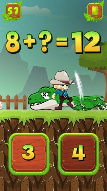 Math Dino : Addition + Number screenshot-3