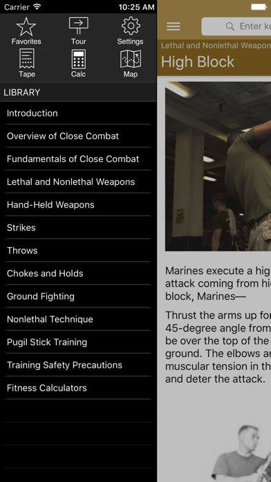 Marine Martial Arts review screenshots