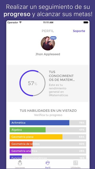 Screenshot for iMatemáticas™ Pro in Ecuador App Store