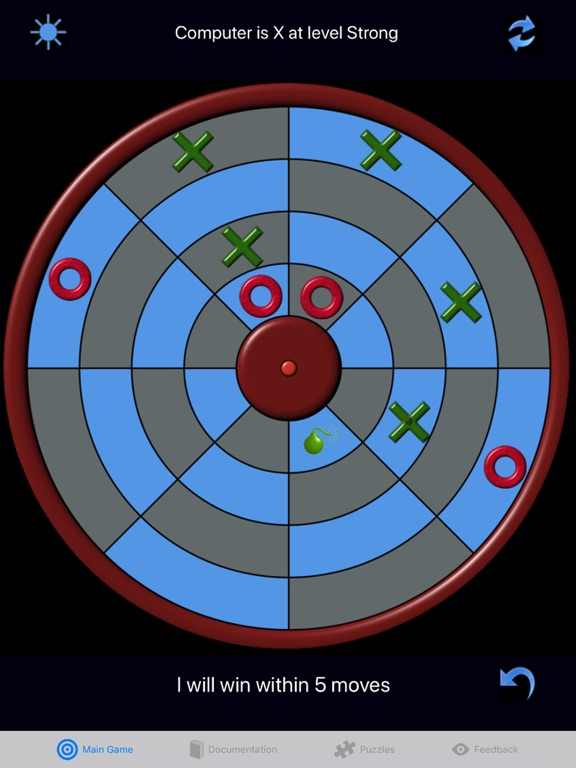 Screenshot #5 for Circular Connect Four