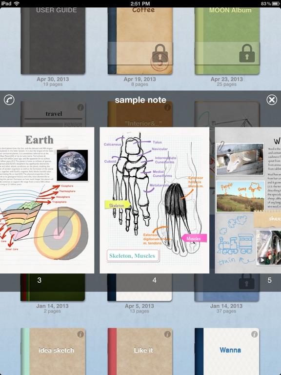 Scrapnote Screenshots