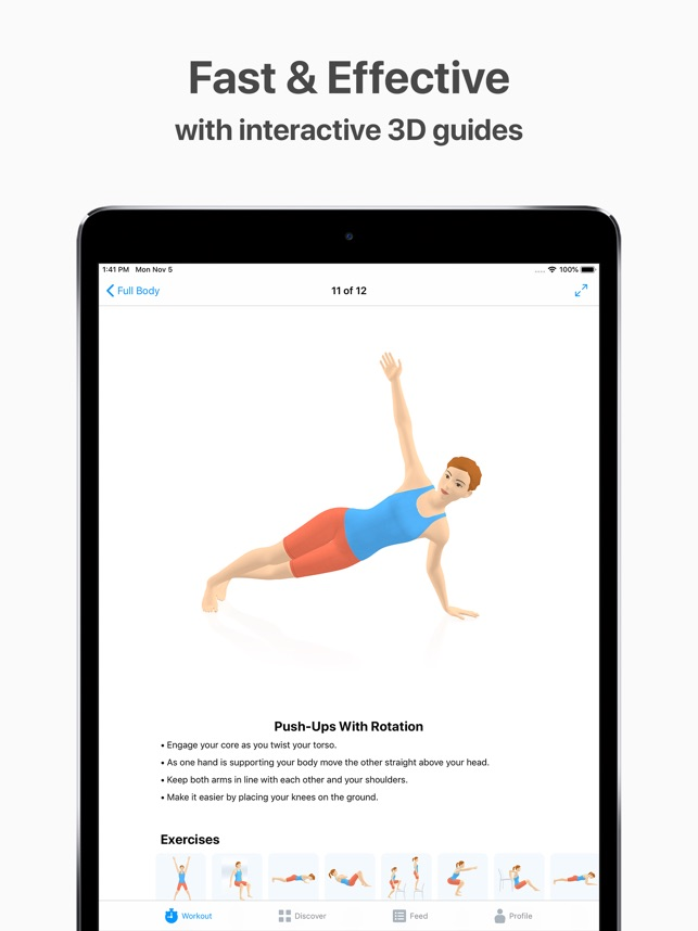 Seven - 7 Minute Workout on the App Store
