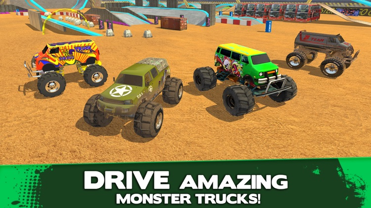 Monster Truck Driver Simulator screenshot-4