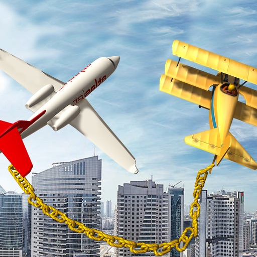 Chained Airplane Game