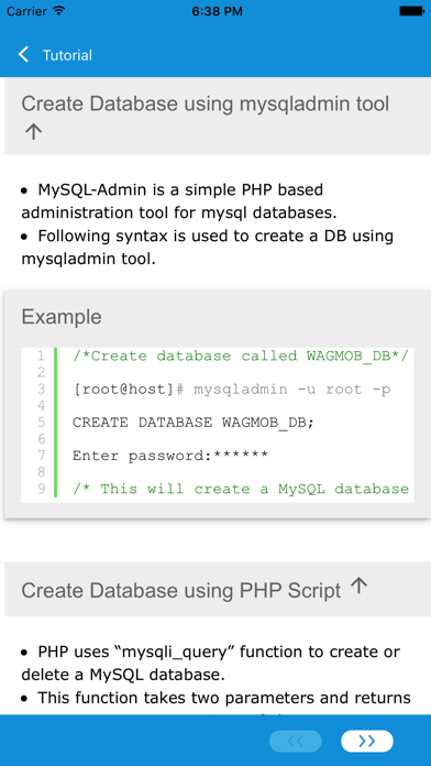Learn MySQL, SQL and DBMS screenshot four