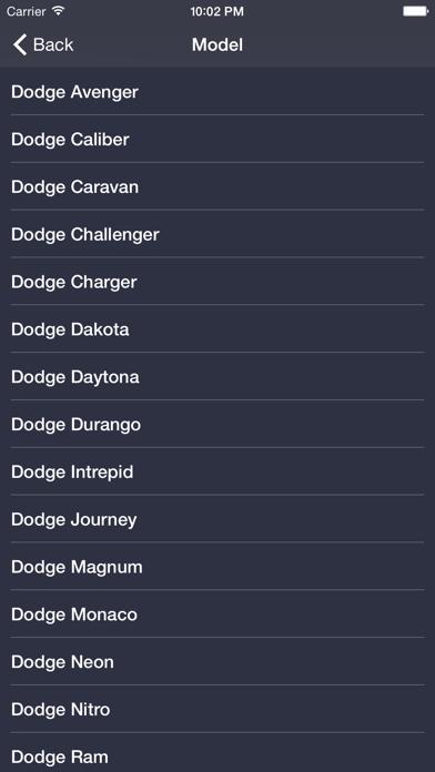 TechApp for Dodge Screenshot