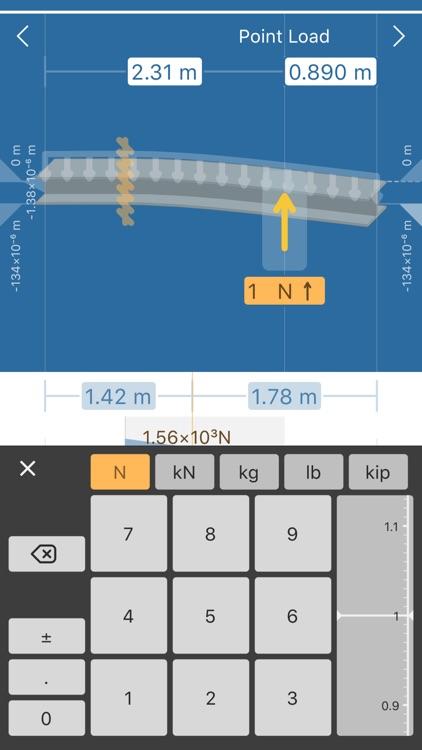 Beam Deflection Calculator screenshot-3