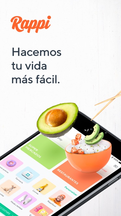 Screenshot for Rappi: Food & Groceries in Mexico App Store