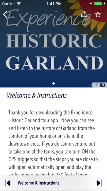 Experience Historic Garland screenshot-1