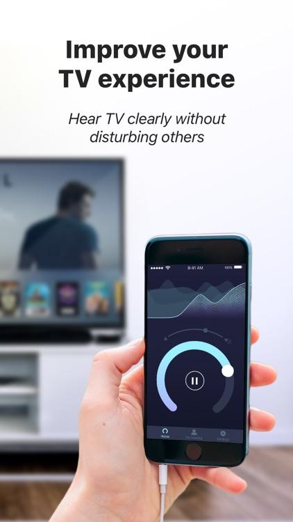 Mobile Ears: Hearing Aid & Speech Amplifier screenshot-3
