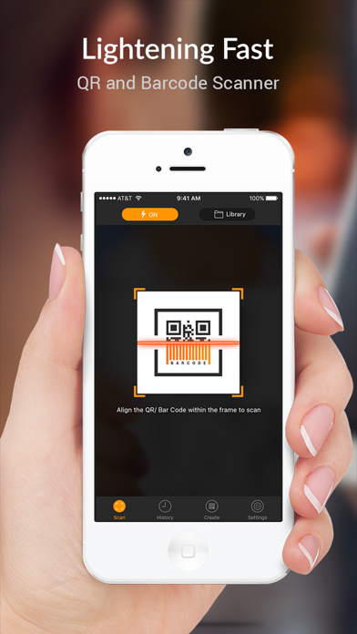 Screenshots of QR Scanner - QR Code Reader and Barcode Scanner for iPhone