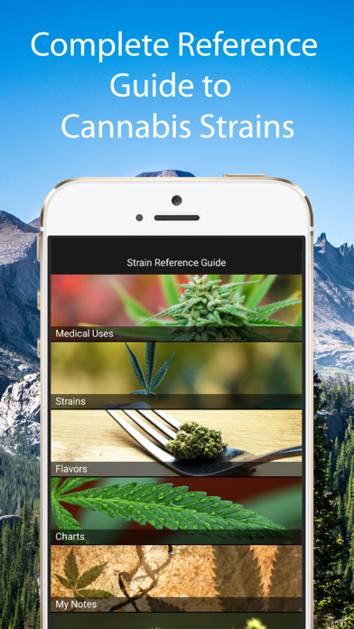Cannabis Strain Guide Lite screenshot one