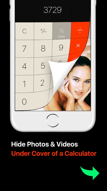 Photo Lock Vault Calculator +