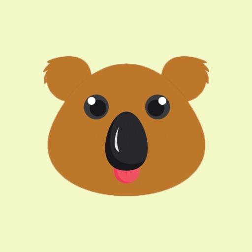 koala smiley bear emoji by fomichev denis