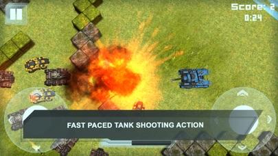 Assault Tanks Battle: War Game
