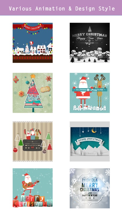 Animated Christmas Stickers -