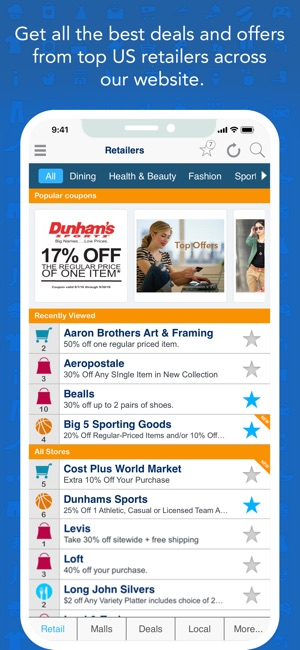 How Much Do Web Coupons Tell Retailers >> Geoqpons Coupons App On The App Store