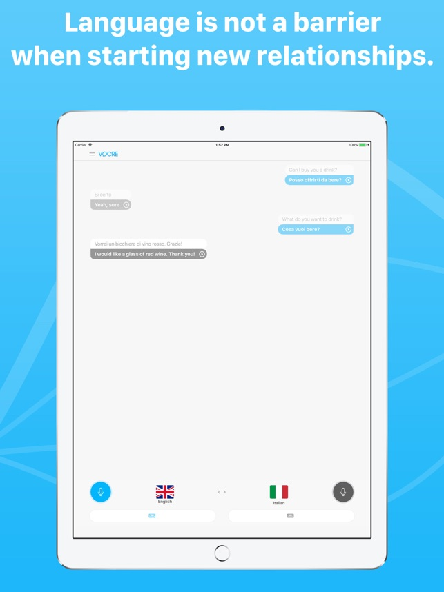 Language Translator by Vocre Screenshot