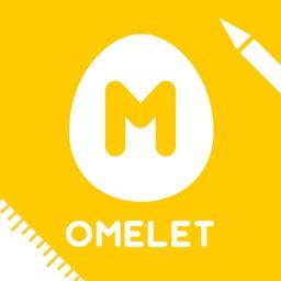 つくるんです OMELET