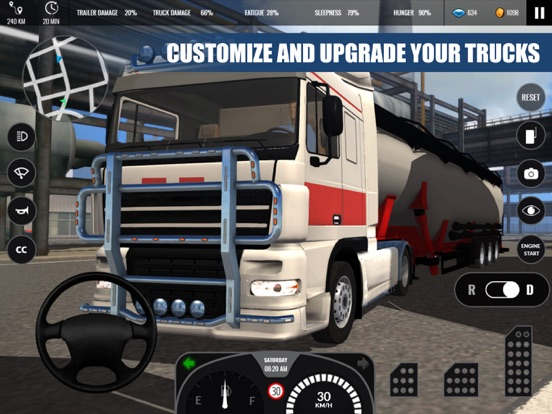 Truck Simulator PRO Europe screenshot 9