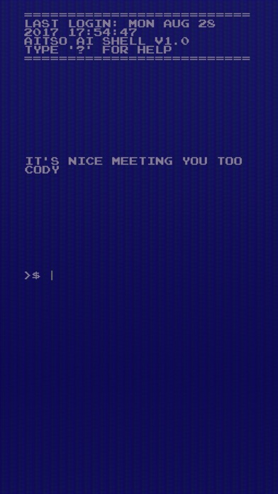 AITSO - Talking AI Chatbot