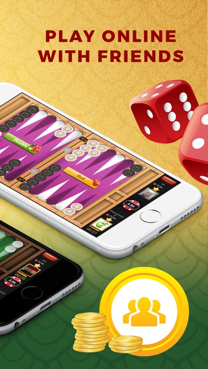 Backgammon #1 Play Live Online