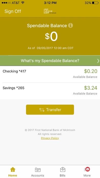 点击获取First National Bank - McIntosh