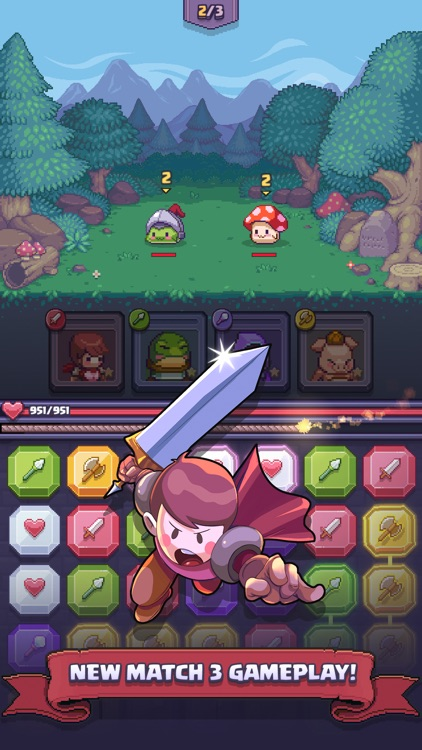 Match Land: Puzzle RPG screenshot-3