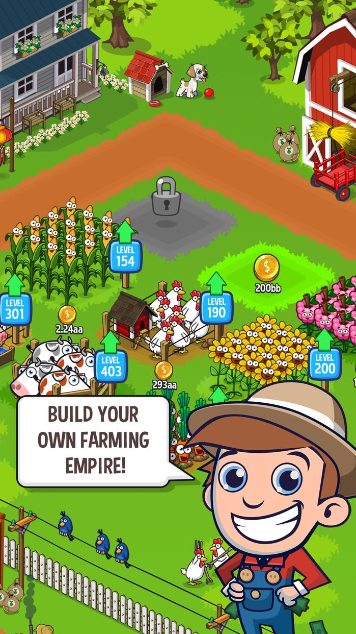 Idle Farming Empire Screenshot