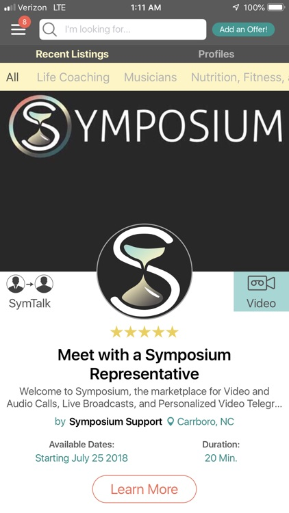 Symposium - Social Live Video screenshot-3