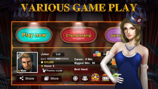 International gambling