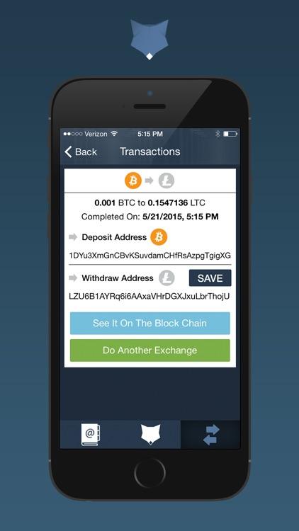 ShapeShift - Crypto Converter screenshot-3