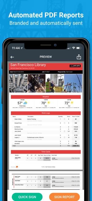 raken construction management on the app store