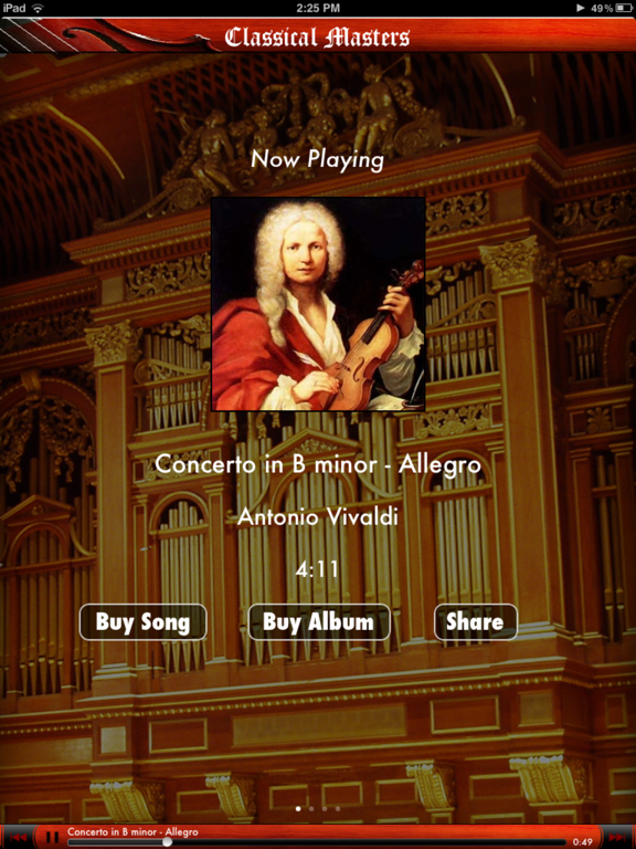 Classical Masters - Anywhere Artist screenshot