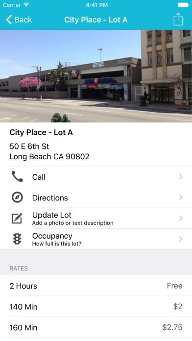 EZparkLB - Park Smarter screenshot two