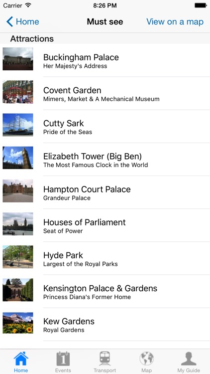 London Travel Guide Offline screenshot-3