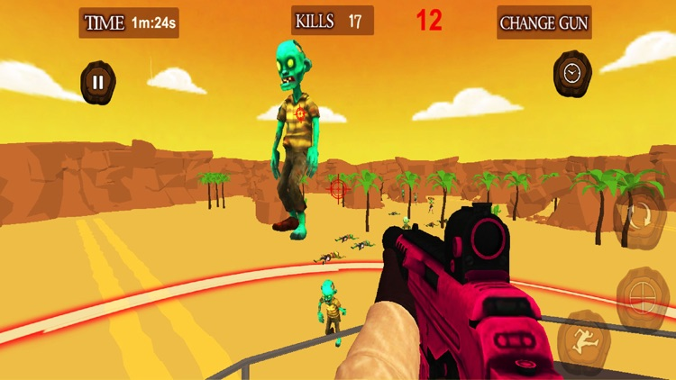 Guns Of Zombies screenshot-3