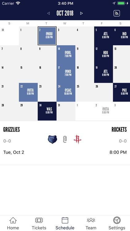 Memphis Grizzlies screenshot-3