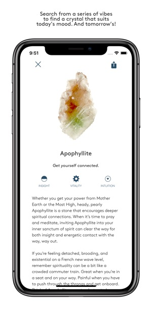 STONE: Crystals, illuminated  on the App Store