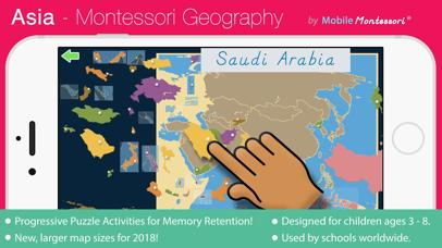 Asia - Montessori Geography screenshot 1