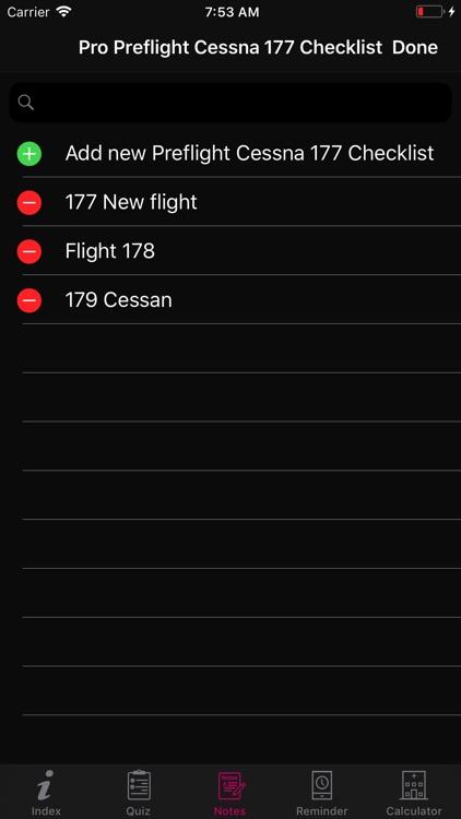 Preflight Cessna 177 Checklist screenshot-6