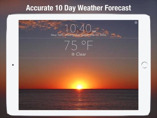 Screenshot #1 for 10 Day NOAA Weather