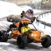 Buggy Car Snow Downhill Racing