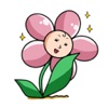 Beautiful Ms. Flower Sticker