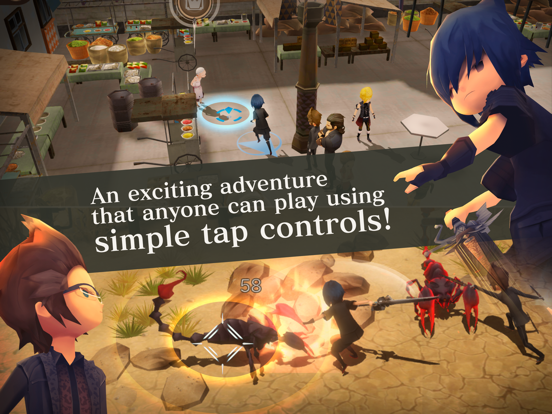 FINALFANTASY XV POCKET EDITION screenshot 8