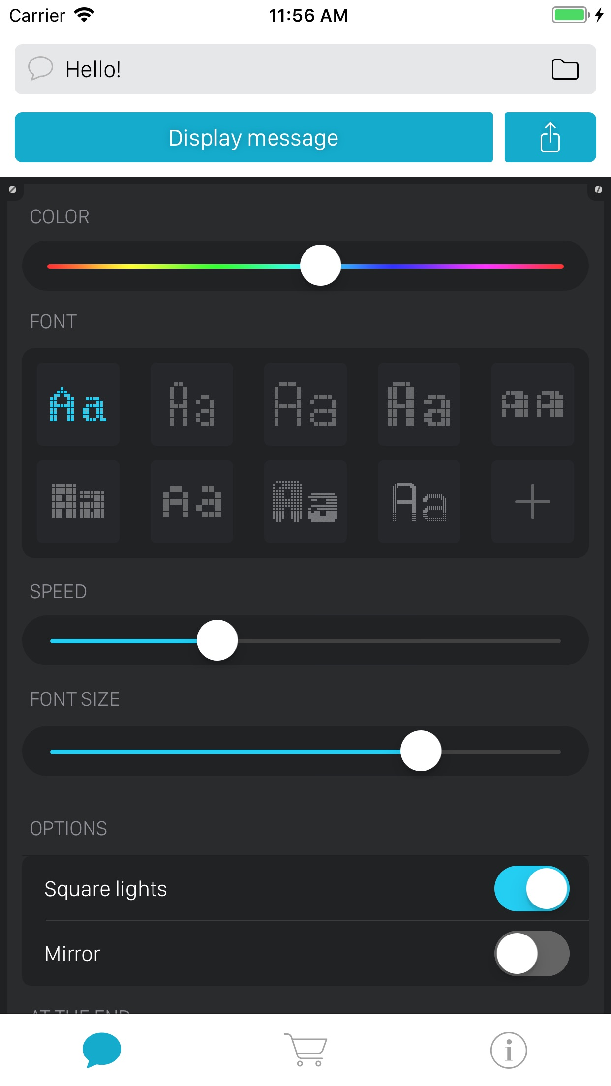 LEDit – The LED Banner App Screenshot